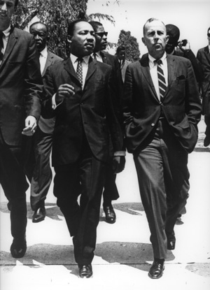 Martin Luther King with Chancellor Murphy